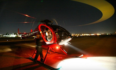 $599 for a Private Party for Up to 10 with Helicopter Tour from Adventure Helicopter Tours ($1,300 Value)
