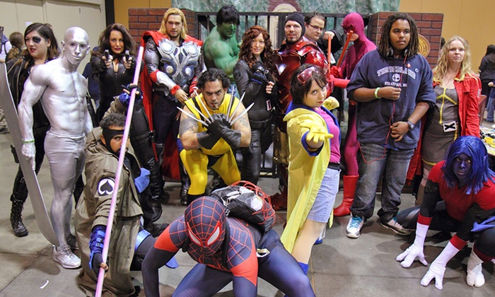 Amazing Las Vegas Comic Con - Las Vegas Convention Center: One-Day Admission for One or Two to Amazing Las Vegas Comic Con on June 17–19 (Up to 75% Off)
