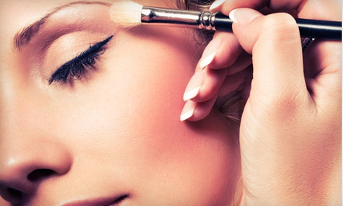 EyeMAX Cosmetics and Beauty Boutique - Broad Ripple: Makeup Lesson with Custom-Blend Foundation for One or Two at EyeMAX Cosmetics and Beauty Boutique (Up to 69% Off)