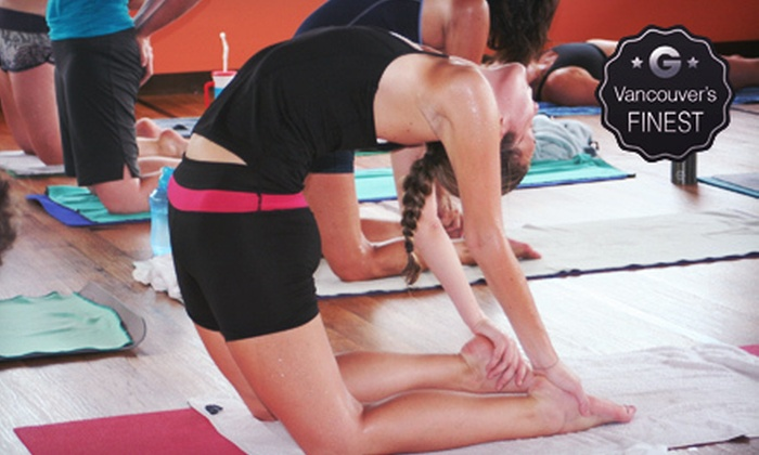 Bikram Yoga White Rock - White Rock: 10 or 20 Classes or One Month of Unlimited Classes at Bikram Yoga White Rock (Up to 82% Off)