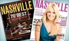 """Nashville Lifestyles: One- or Two-Year Subscription to """"Nashville Lifestyles"""" Magazine (Up to Half Off)"""
