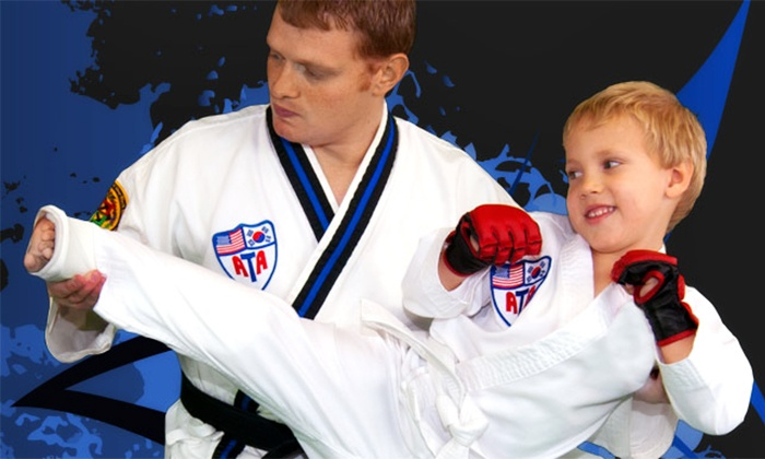 Family ATA - Multiple Locations: One Month of Martial-Arts, Israeli-Combat, or Boot-Camp Classes at Family ATA (Up to 83% Off)