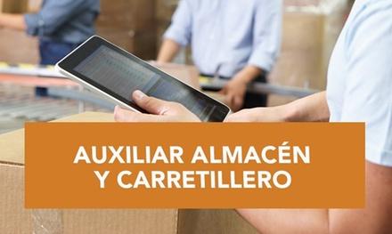 Curso online de auxiliar de almacén y carné de carretillero por 29,99 € en Inn Formación