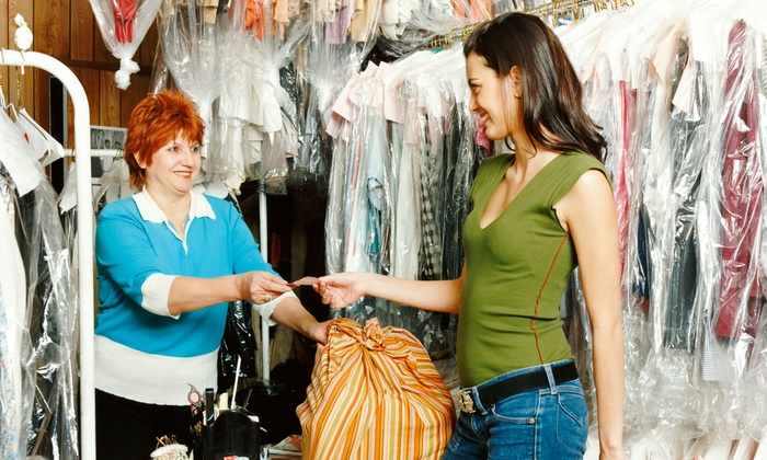 Riverside Laundromat & Dry Cleaning - Hoboken: Dry Cleaning or Wash-and-Fold Services at Riverside Laundromat & Dry Cleaning (50% Off). Two Options Available.