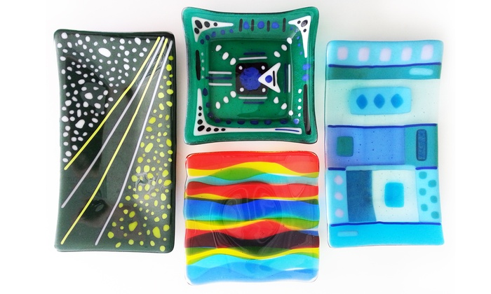 Art for Fun! Studio and Gallery - Phoenix: Glass-Fusing Class for One, Two, or Four at Art for Fun! Studio and Gallery (Up to 55% Off)