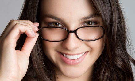 Eye Exam with Options for 30-Day Contacts Trial or Prescription Glasses at Insight Vision Center (Up to 73% Off)