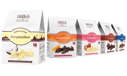 300 oder 450 g Knusperpralinen nach Wahl von Höflich Schokolade ab 5,90 € (bis zu 55% sparen*)
