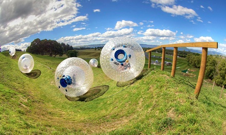 Zorbing for One or Two at Outdoor Gravity Park (Up to 55% Off)