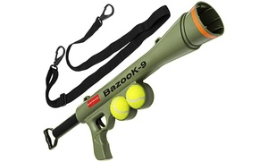 BazooK-9 Pet Squeaking Tennis Ball Launcher for Dogs: BazooK-9 Pet Squeaking Tennis Ball Launcher for Dogs