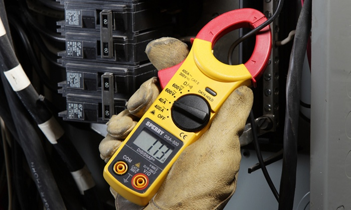 Sperry Instruments Snap-Around Digital Clamp Meter