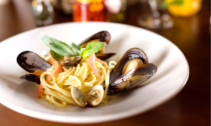 Vetta Osteria & Bar - Centretown - Downtown: Four-Course Italian Meal and Drinks for Two or Four at Vetta Osteria & Bar (Up to 41% Off)