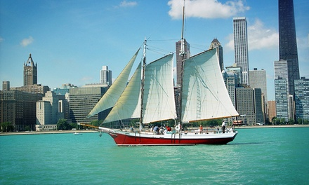 Sail on Chicago's Only Wooden Tall Ship, the Award-Winning Tall Ship Red Witch (Up to 59% Off). Three Options.