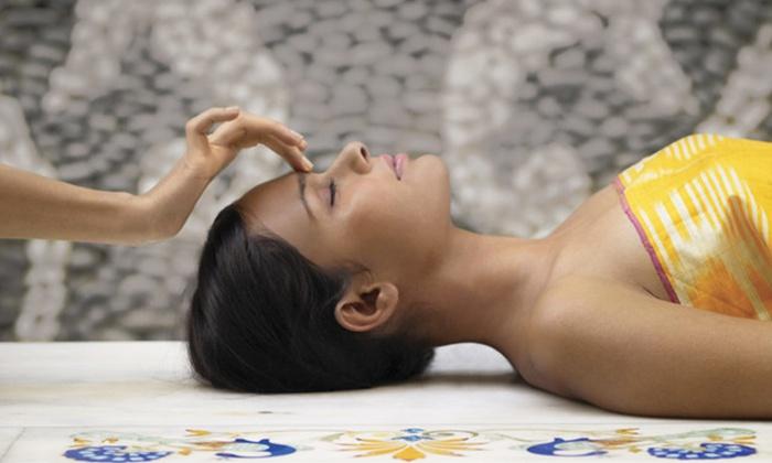 Xylem Aveda Salon & Spa - Monrovia: 60- or 90-Minute Aveda Elemental Nature Facial with an Eye-Zone Treatment at Xylem Aveda Salon & Spa (Up to 55% Off)