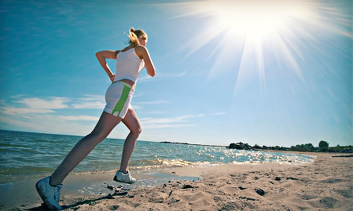 Padre Island Health and Fitness - Corpus Christi: 5 or 10 Beach Fitness Classes at Padre Island Health and Fitness (Up to 55% Off)