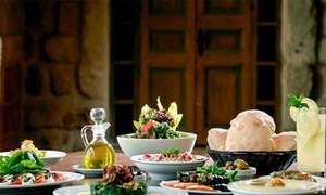 Habibi Diner: Mediterranean and Lebanese Dinner for Two or More or Four or More at Habibi Diner (42% Off)