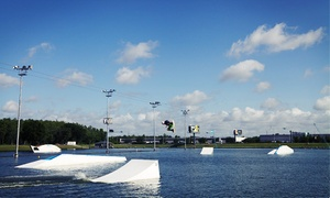 Orlando Cable Park: Beginners' Wakeboard Lesson with 4-Hour Cable Pass for One or Two at Orlando Watersports Complex (Up to 37% Off)