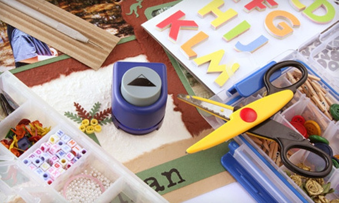 The Sassy Scrapper - Murfreesboro: $15 for $30 Worth of Scrapbooking Materials and Supplies at The Sassy Scrapper