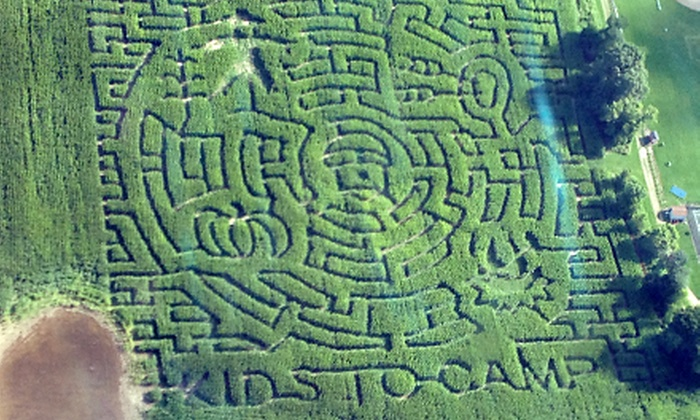 Army Lake Corn Maze - East Troy: Corn-Maze Adventures for Two, Four, or Six at Army Lake Camp (Up to 61% Off)