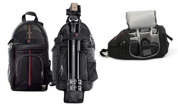 Targus DSLR Digital Camera Sling Bag Backpack | Groupon