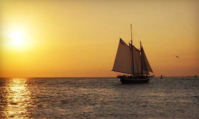 SF Bay Adventures - Freda B: $27 for a Two-Hour Friday-Night Sunset Sail in Sausalito from SF Bay Adventures ($55 Value)