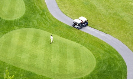 18-Hole Golf Outing for Two or Four with Cart Rental and Food Voucher at Sand Hills Golf Resort (Up to 39% Off)