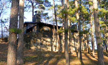 $35 for a One-Night Stay for Up to Four in a One-Bedroom Cabin at Lake Wister State Park (Up to $70 Value)