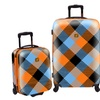 Loudmouth Microwave 3-Piece Hardsided Expandable Luggage Set