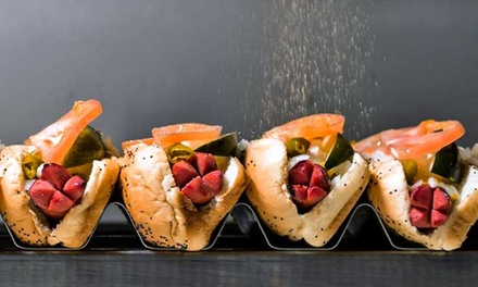 $12 for $20 Worth of Hot Dogs and Burgers at Frank Meats Patty