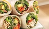 Roly Poly - Harahan: $12 for Three Groupons, Each Good for $8 Worth of Sandwiches and Salads at Roly Poly ($24 Total Value)