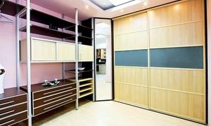 Indeco Wielkopolska: Wykonanie szafy, garderoby lub paneli szklanych: 49,99 zł za groupon zniżkowy wart 400 zł i więcej w Indeco Wielkopolska