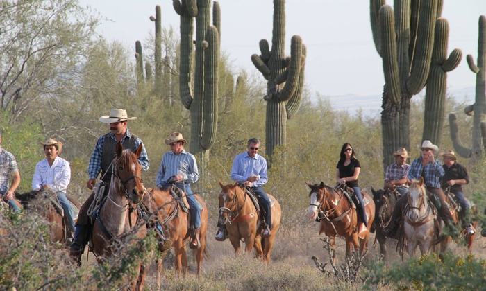 MacDonald's Ranch - Scottsdale: Two-Hour Horseback Trail Ride for One, Two, or Four at Macdonald Ranch (Up to 52% Off)