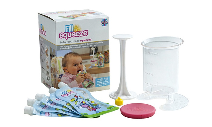 Fill N Squeeze Baby Food Pack Groupon Goods