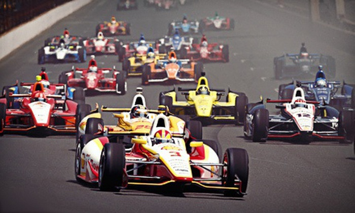 MAVTV 500 INDYCAR World Championships - Auto Club Speedway: MAVTV 500 INDYCAR World Championships Package for an Adult or Child at Auto Club Speedway on October 19 (Up to 40% Off)