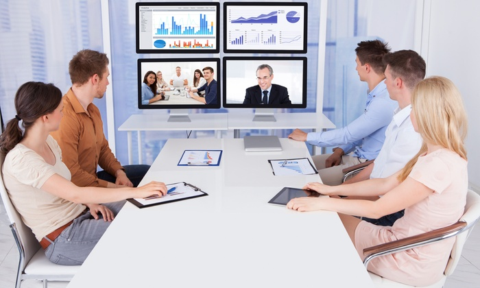 Voicetext Conferencing - Downtown: $330 for $600 Groupon — Voicetext Conferencing