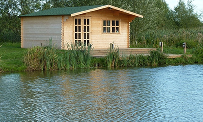 Weston Lawns Fishery - Coventry: Weston Lawns Fishery: Overnight Stay With Fishing For Two from £29 (Up to 41% Off)
