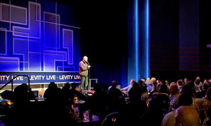 Levity Live Comedy Club - Levity Live Comedy Club North Jersey: $22 for a Standup Show for Two at Levity Live Comedy Club (Up to $48 Value)