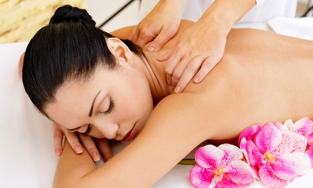 55- or 80-Minute Therapeutic Massage at Elements Massage (Up to 56% Off). Two Locations Available.