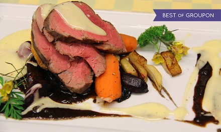 Chef Designed Farm-to-Table Dinner for Two or Four at Bogner's of Penticton (Up to 45% Off)