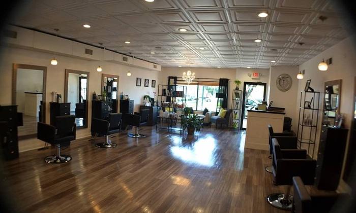 salon four - Scotch Plains: A Women's Haircut from Stevie at Salon Four (45% Off)