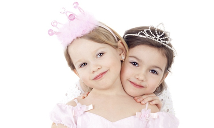 Salon 36 Kids - Pikesville: Girls' Day Out Package for Two or Four, or Petite Princess Party for 10 at Salon 36 Kids (Up to 58% Off)