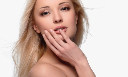 One or Two Anti-Aging Microcurrent Face-Lift Treatments at Doll Face Skin Studio (54% Off)