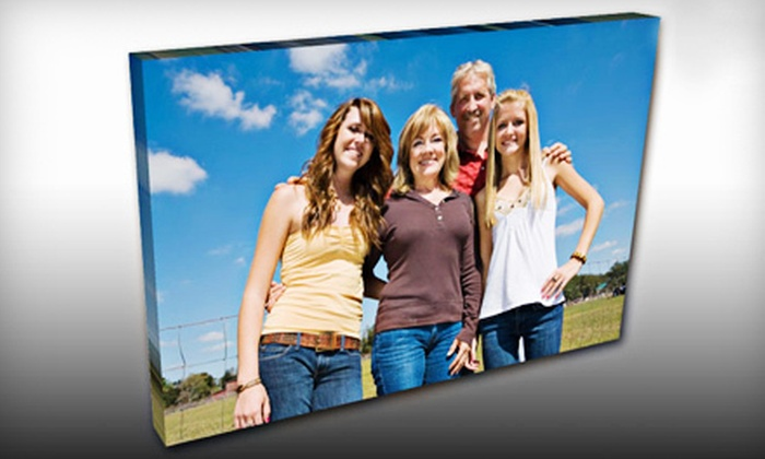 DallasOnCavas.com: Custom Canvas Prints and Framing from DallasOnCanvas.com (Up to 56% Off). Two Options Available.