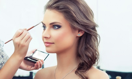 45-Minute Makeup Lesson for One, Two, or Four at Charleston Events Hair and Makeup (Up to 71% Off)