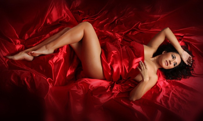 "Imaging Studios - Cowards Creek Office Park: Quickie Boudoir Photo Shoot with a 5""x7"" Print, a Mounted 11""x14"" Print, or Both at Imaging Studios (Up to 73% Off)"