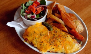 Tsone Middlesbrough: Chicken or Pork Parmo With Drink For Two from £9 at TS:One Middlesbrough (Up to 53% Off)