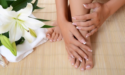 A Spa Manicure and Pedicure from Anointed Beauty Salon & Day Spa (57% Off)