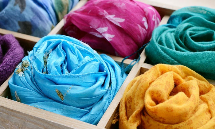 DIY Silk Scarf Class - For Art's Sake: Design and Dye Your Own Silk Scarf with a Textile Designer