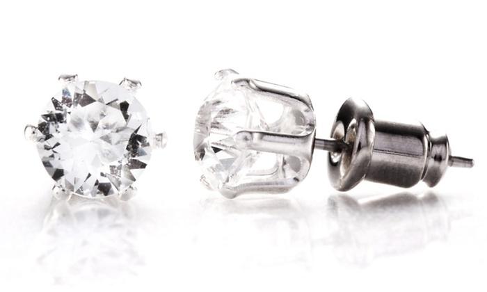 Swarovski Elements Crystal Stud Earrings: $5.99 for Swarovski Elements Crystal Stud Earrings ($62 List Price). Free Returns.