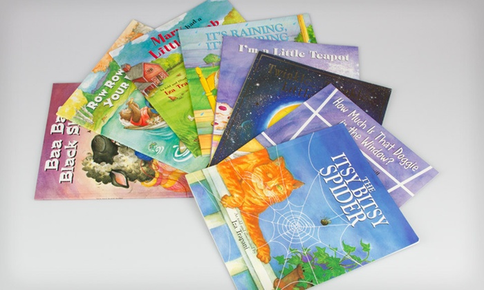 Set of Eight Softcover Storybooks: $10.99 for a Softcover Children's-Storybook Eight-Book Collection ($59.95 List Price)