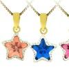 Kids' Star Pendants with Swarovski Elements